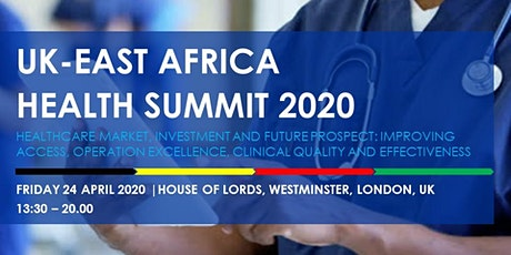 UK-East Africa Health Summit 2020 tickets