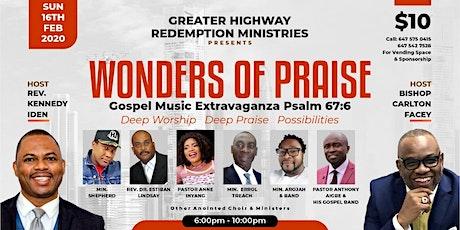 Wonders of Praise tickets