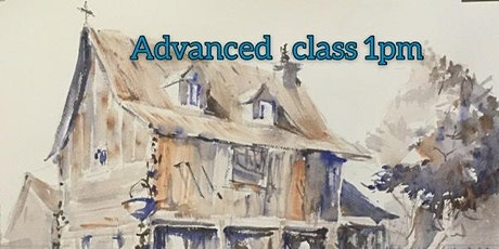 """Sketching in Ink, Graphite & Watercolor the  """"Fast & Furious"""" Way-ADVANCED tickets"""