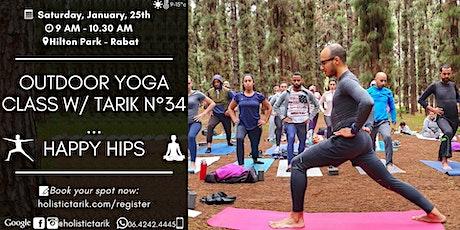 Outdoor yoga class in Rabat n°34: Happy Hips billets
