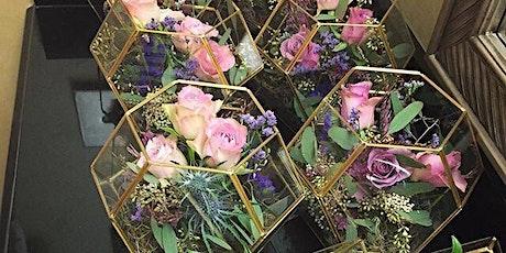 Terrarium Flower school (floristry/Flower arranging class) tickets