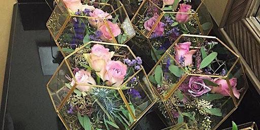Terrarium Flower school (floristry/Flower arranging class)