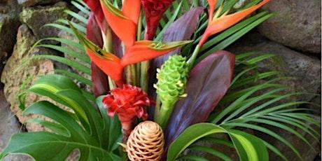 Tropical Box Flower Class (floristry/Flower arranging workshop) tickets