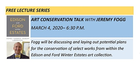 Art Conservation Talk with Jeremy Fogg tickets
