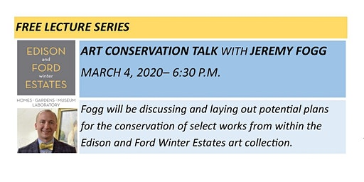 Art Conservation Talk with Jeremy Fogg