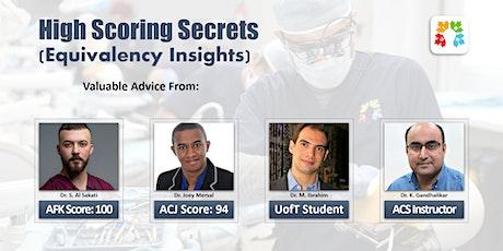 High Scoring Secrets (Equivalency Insights) tickets