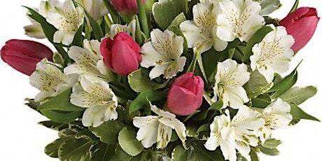 Hand tied Bouquet - Spring Romance - Dollys Tearoom Darwen tickets