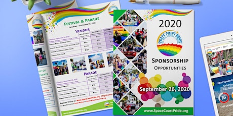 Space Coast Pride 2020 - Vendor Registration tickets