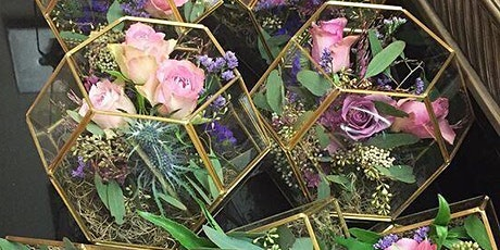 Create a floral Terrarium (floristry/flower arranging class) tickets