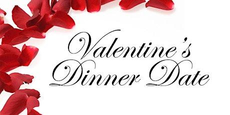 Valentine's dinner date Babysitting event tickets