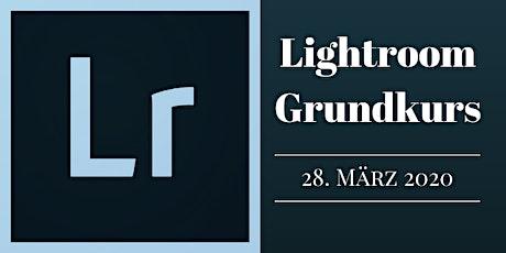 Lightroom Grundkurs 28.3.20 in Zürich tickets