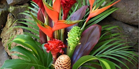 TCreate a Tropical Flower Arrangment (floristry workshop) tickets