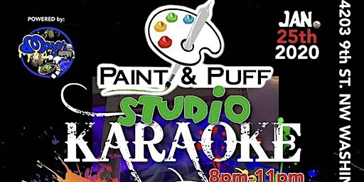 Paint & Puff Studio Karaoke Powered by Major League Records