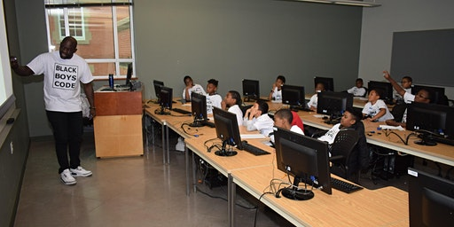 """Black Boys Code Edmonton """"Learn to Design and Build a three-page website"""""""
