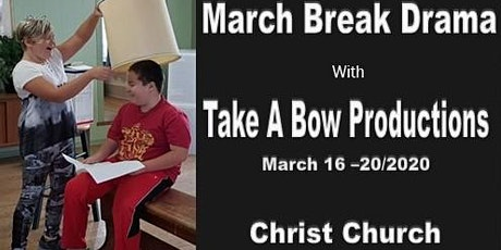 March Break Drama tickets