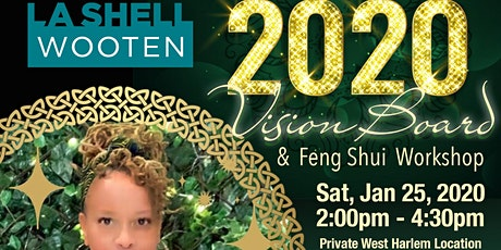 2020 (Clear) Vision Board & Feng Shui Workshop (It's Chinese New Year!) tickets