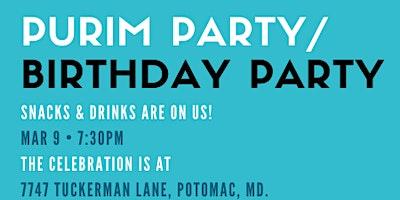 It's Purim/It's My Birthday!