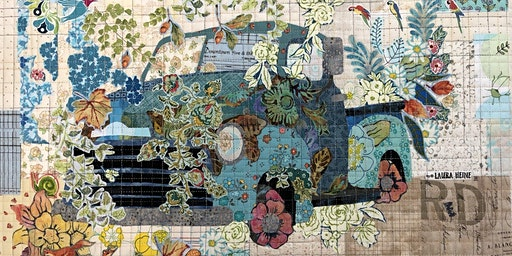 Tiny 'Truck' - Laura Heine Collage Class