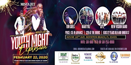 Mista Jet Presents: Youth Night Explosion tickets