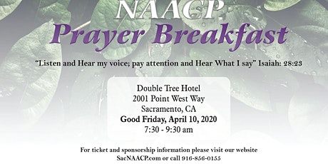 Sacramento NAACP 38th Prayer Breakfast tickets