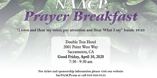 Sacramento NAACP 38th Prayer Breakfast