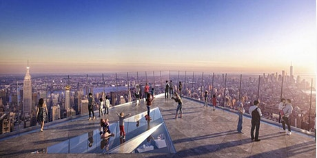 BUS TRIP TO HUDSON YARDS AND VIEW THE EDGE OBSERVATORY , VESSEL WITH LUNCH tickets