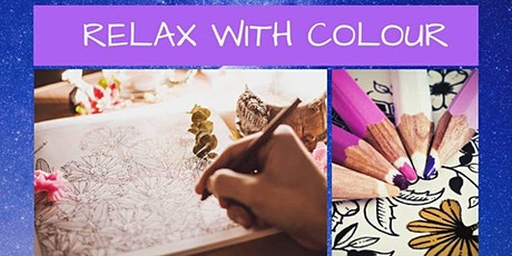 Releasing Stress - RELAX with COLOUR tickets