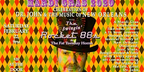 Mardi Gras 2020 Celebration of Dr John and the Music of New Orleans tickets