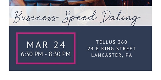 Business Speed Dating - Spring 2020