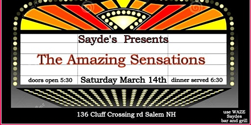 ITS A BIRTHDAY PARTY @ Saydes WITH The Amazing Sensations
