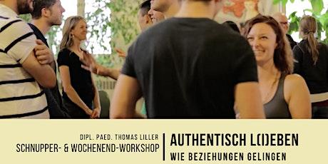 Authentisch L(i)eben: Wie Beziehungen gelingen - Berlin (Workshop) Tickets