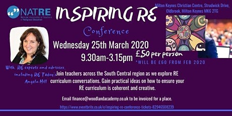 Inspiring RE conference tickets