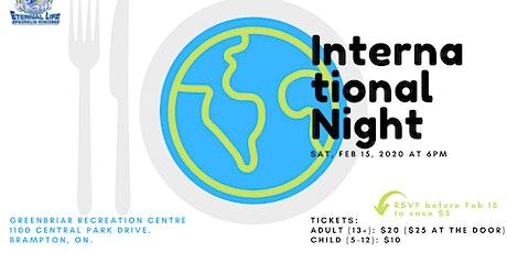 International Night 2020 (ELAM) tickets