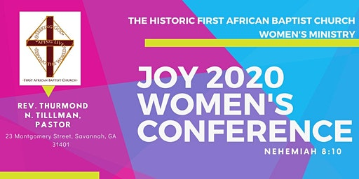 Joy 2020 Women's Conference- First African Baptist Church