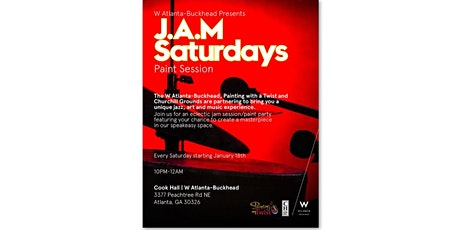JAM Saturdays Paint Session tickets