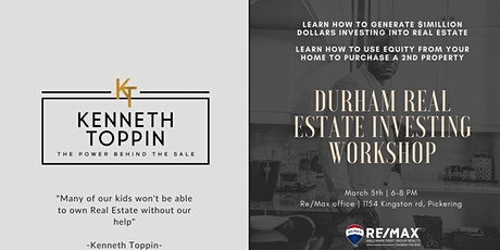 DURHAM REAL ESTATE INVESTING WORKSHOP tickets