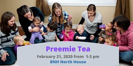 Preemie Tea tickets