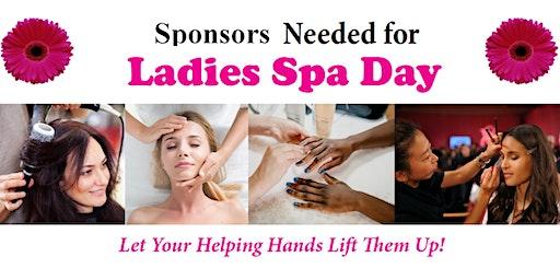 Ladies Spa Day Sponsorships