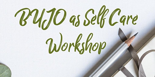 Feb 23 BUJO As Self Care Workshop at Eclectic Co.