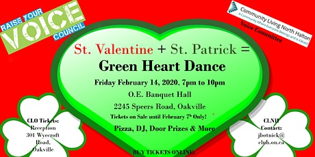 Green Heart: Valentine & St Patrick's Day Dance tickets