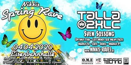Nikkis Spring Rave tickets