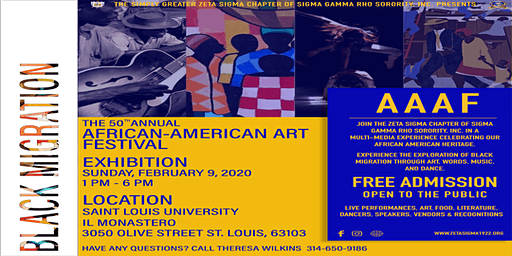 The 50th Annual African American Arts Festival