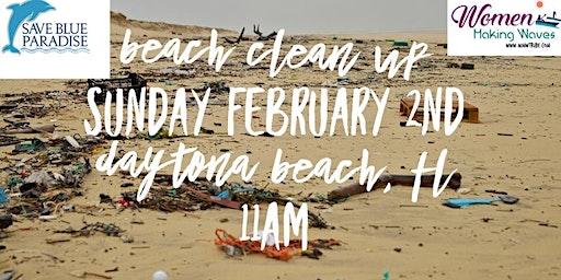 Save Blue Paradise & Women Making Waves Beach Clean Up