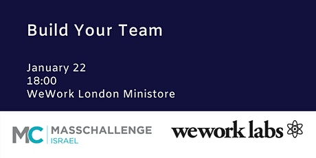Build Your Team: Co-founder Matchmaking Event tickets