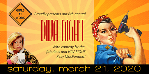 Girls at Work Diva Comedy Night 2020