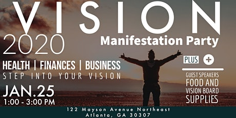 Vision 20/20 Manifestation Party tickets