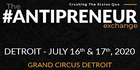 #Antipreneur Exchange - A business  conference like none you have ever seen tickets