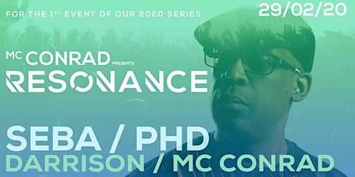 MC Conrad presents Resonance feat' Seba & PHD