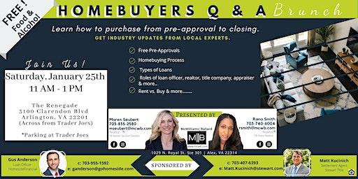 Homebuyers Q & A  Brunch