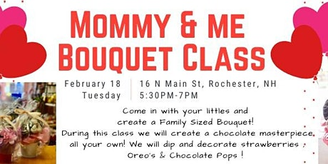 Mommy & Me Bouquet Class tickets